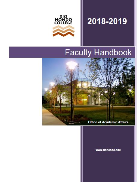 Click to view the Faculty Handook 2018-2019