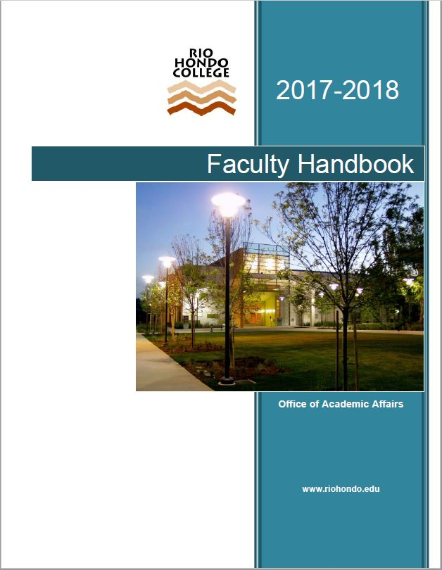 Click to view the Faculty Handook 2017-2018