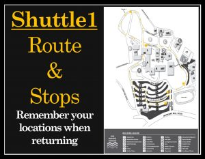 View Shuttle 1 Route Map