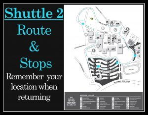 Shuttle 2 Route Map