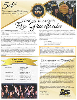 Grad Letter - Click to View