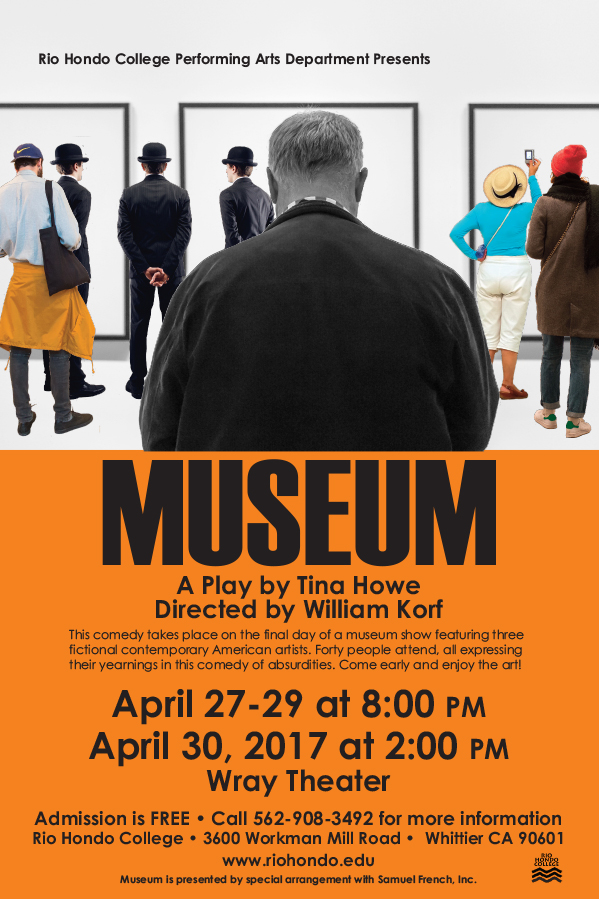 MUSEUM, SPRING MAINSTAGE PLAY @ WRAY THEATRE | California | United States