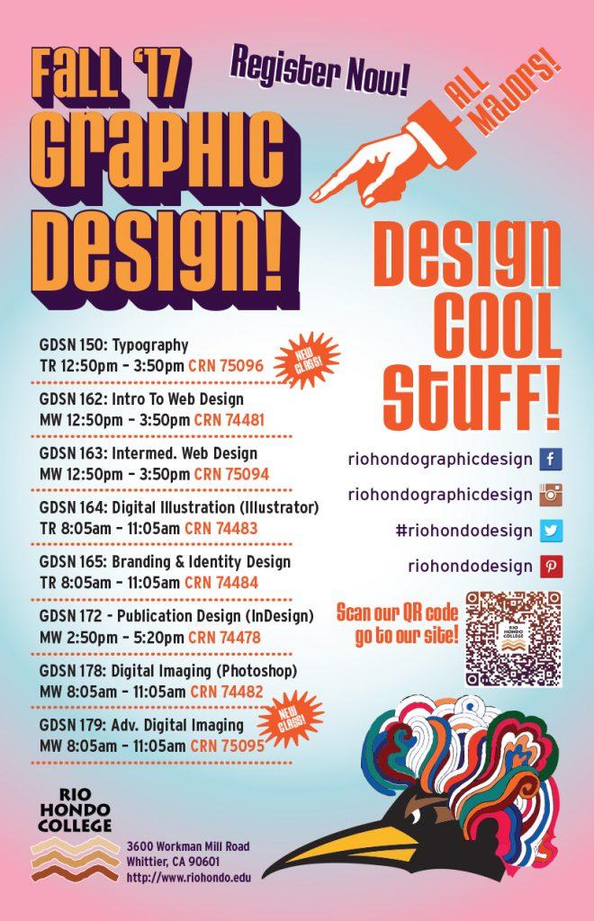 Rio Hondo College Fall Graphic Design Classes