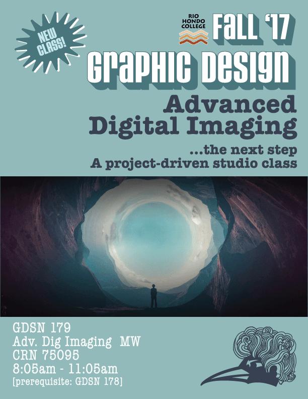 Rio Hondo College Graphic Design classes fall 2017