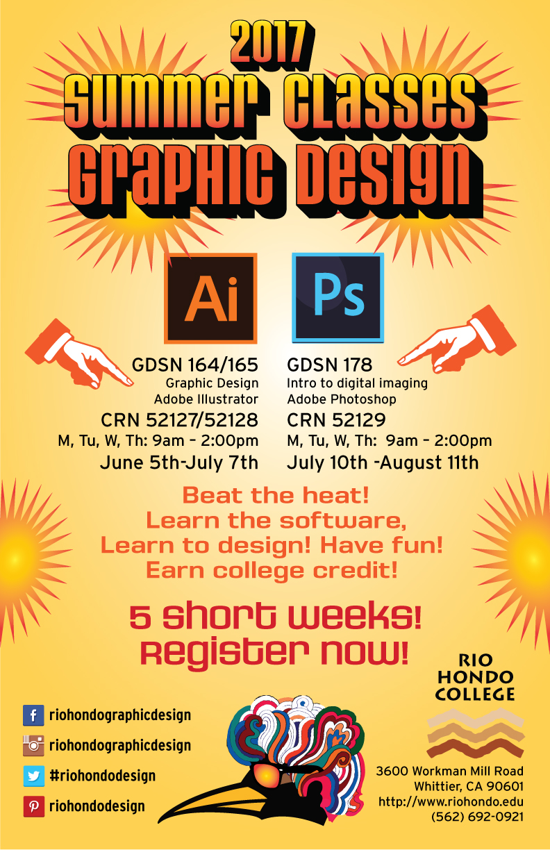 Rio Hondo College Summer Graphic Design Classes