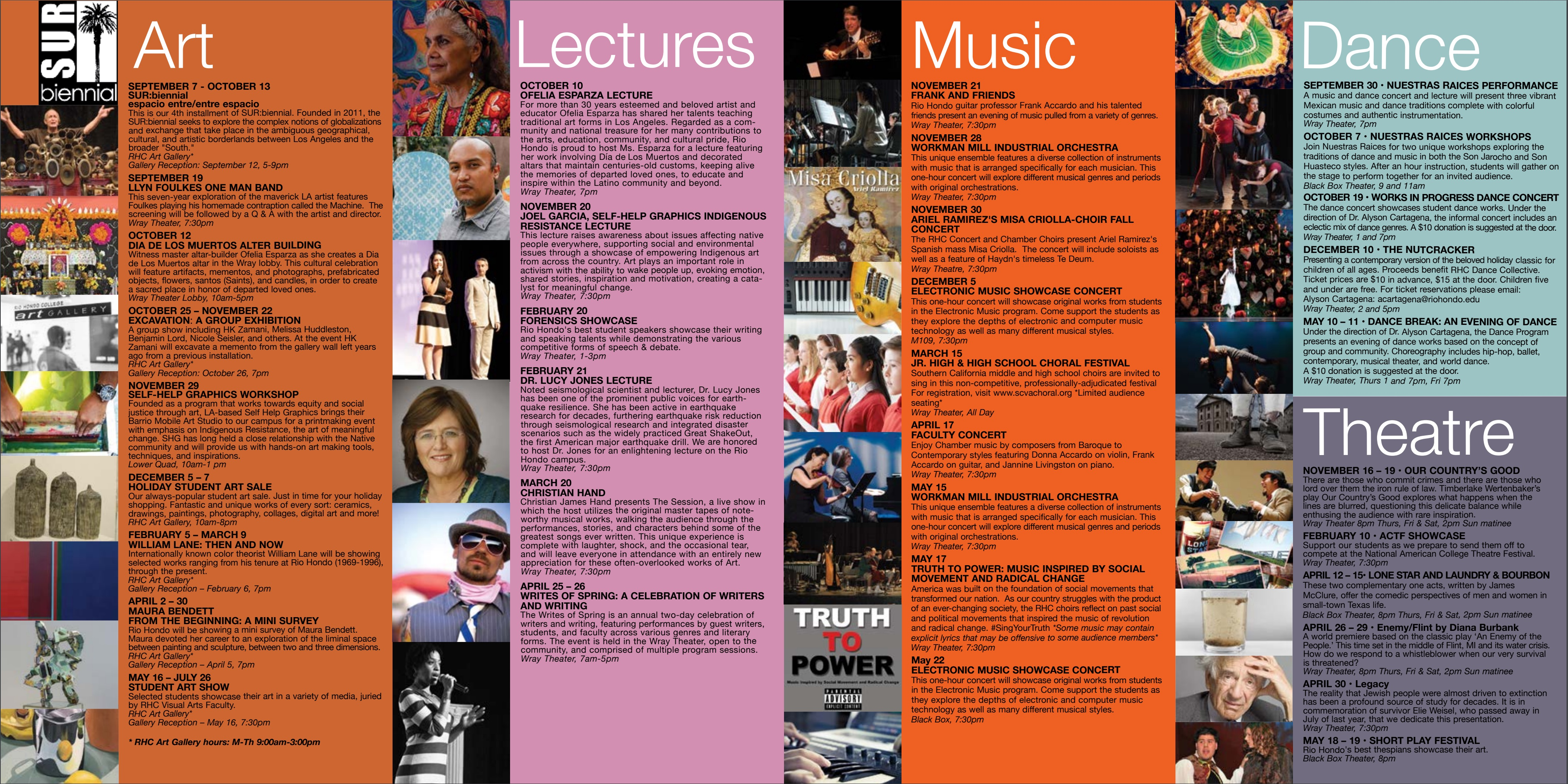Santa Fe College Calendar >> Arts and Cultural Programs Events | Arts Division