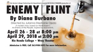 Enemy/Flint by Diana Burbano @ Wray Theater | Whittier | California | United States
