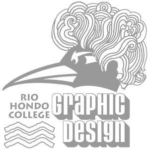 Rio Hondo Graphic Design Program Roadrunner logo
