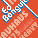 GDSN 150: Typography: Project 2 Typographer Poster