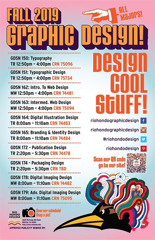 Graphic Design Fall 19 schedulearts/front-page/programs-offered/graphic-design/