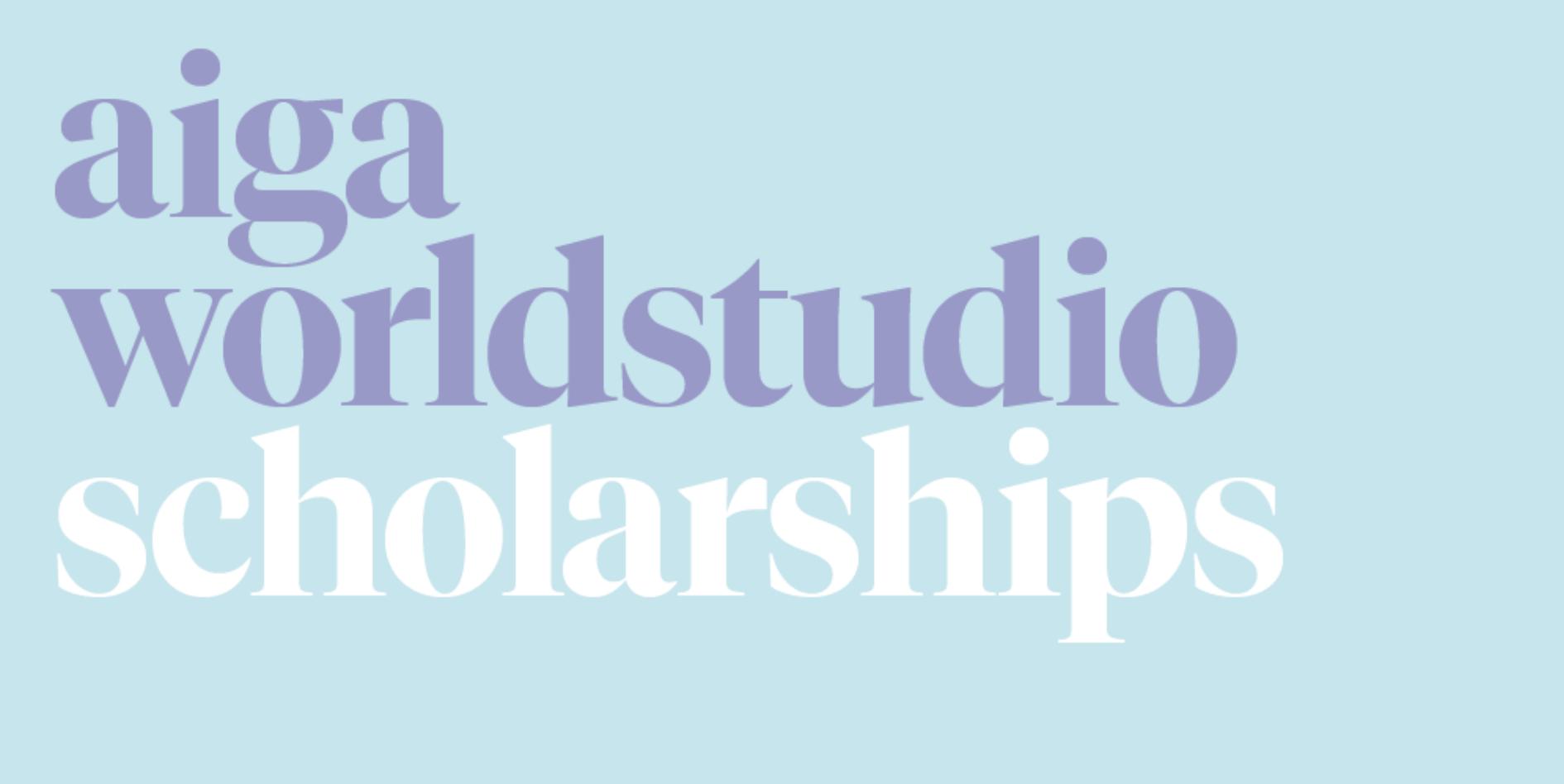 AIGA Scholarship image