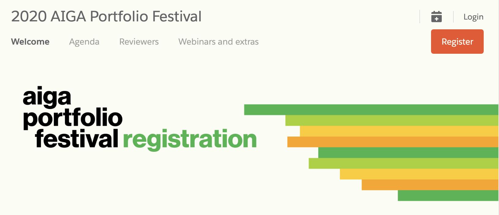 AIGA Summer Portfolio Fest
