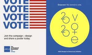 vote AIGA posters