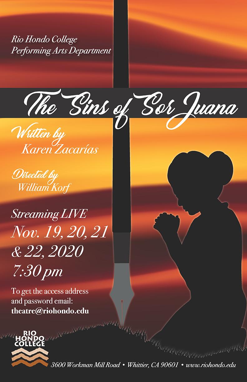 the sins of sor Juana poster