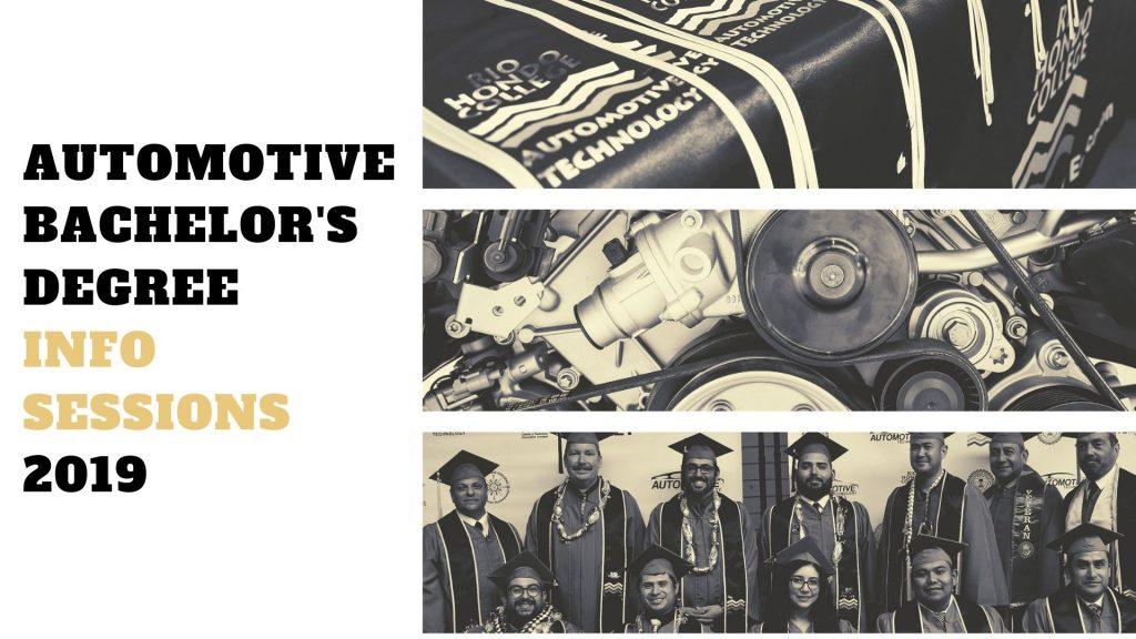 Automotive Bachelor's Degree Info Session 2019 ...