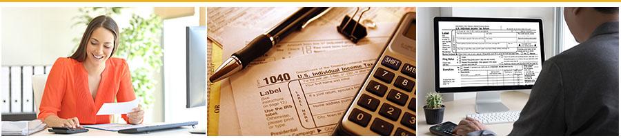Income Tax Preparer Banner