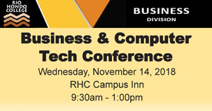 Business amd Computer Tech Conference