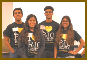 High school students who participated in Entrepreneur Camp Rio 2019