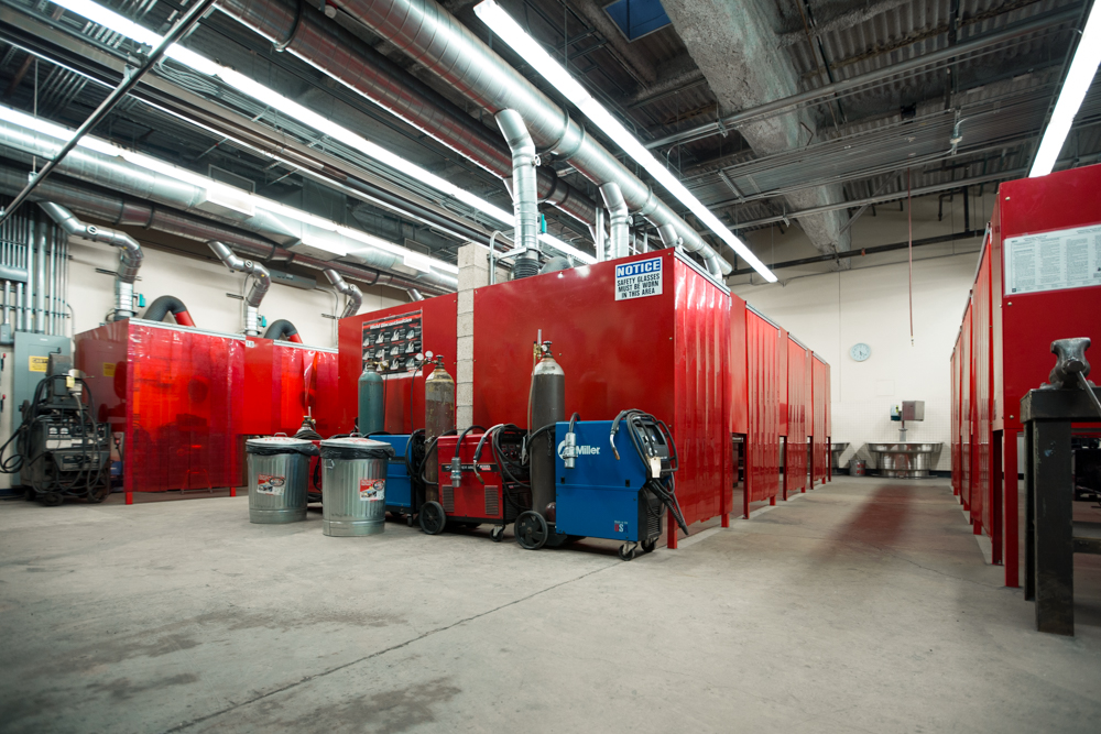 Welding Facilities Career And Technical Education