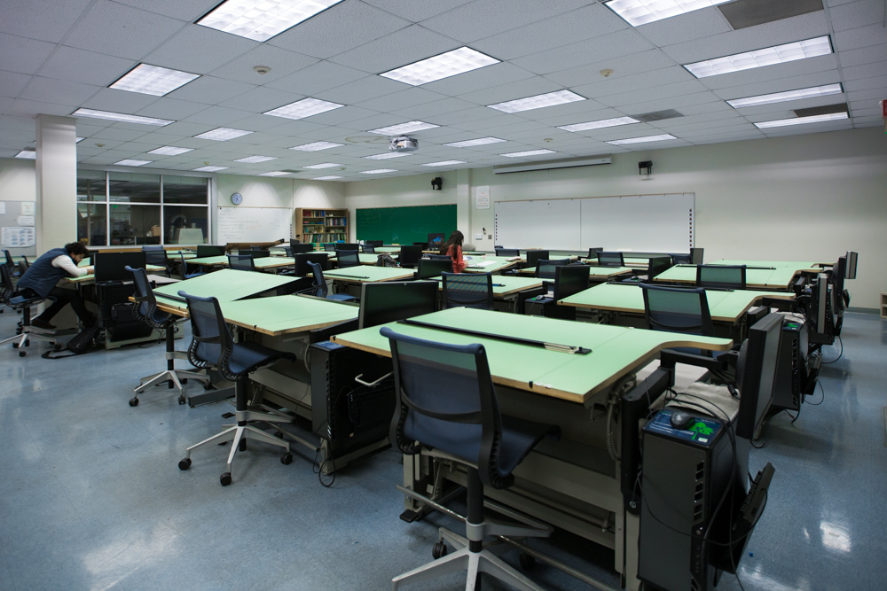 ACEGD Design lab classroom