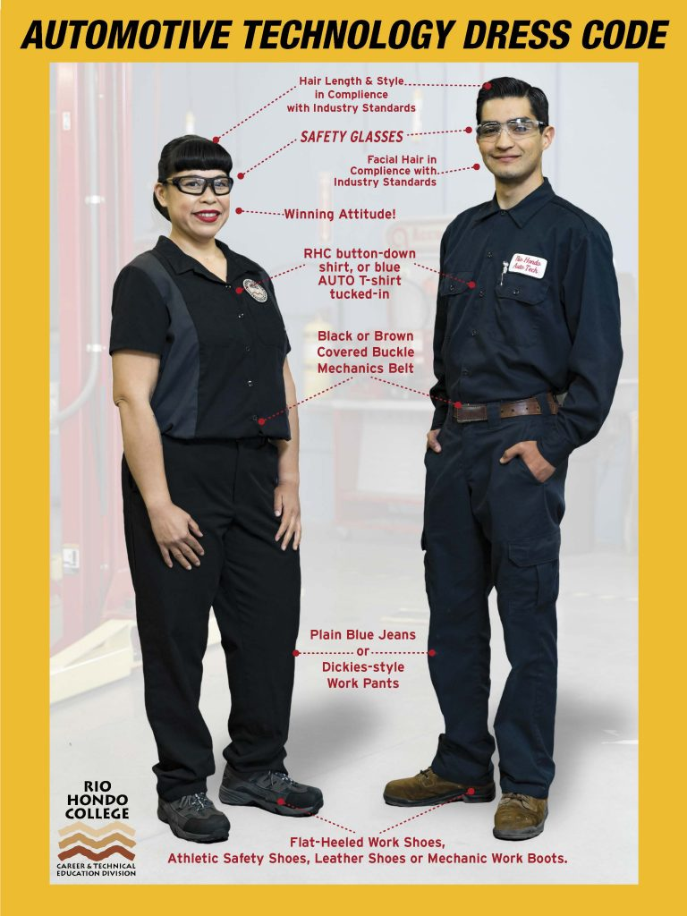 Automotive Technology Dress Code