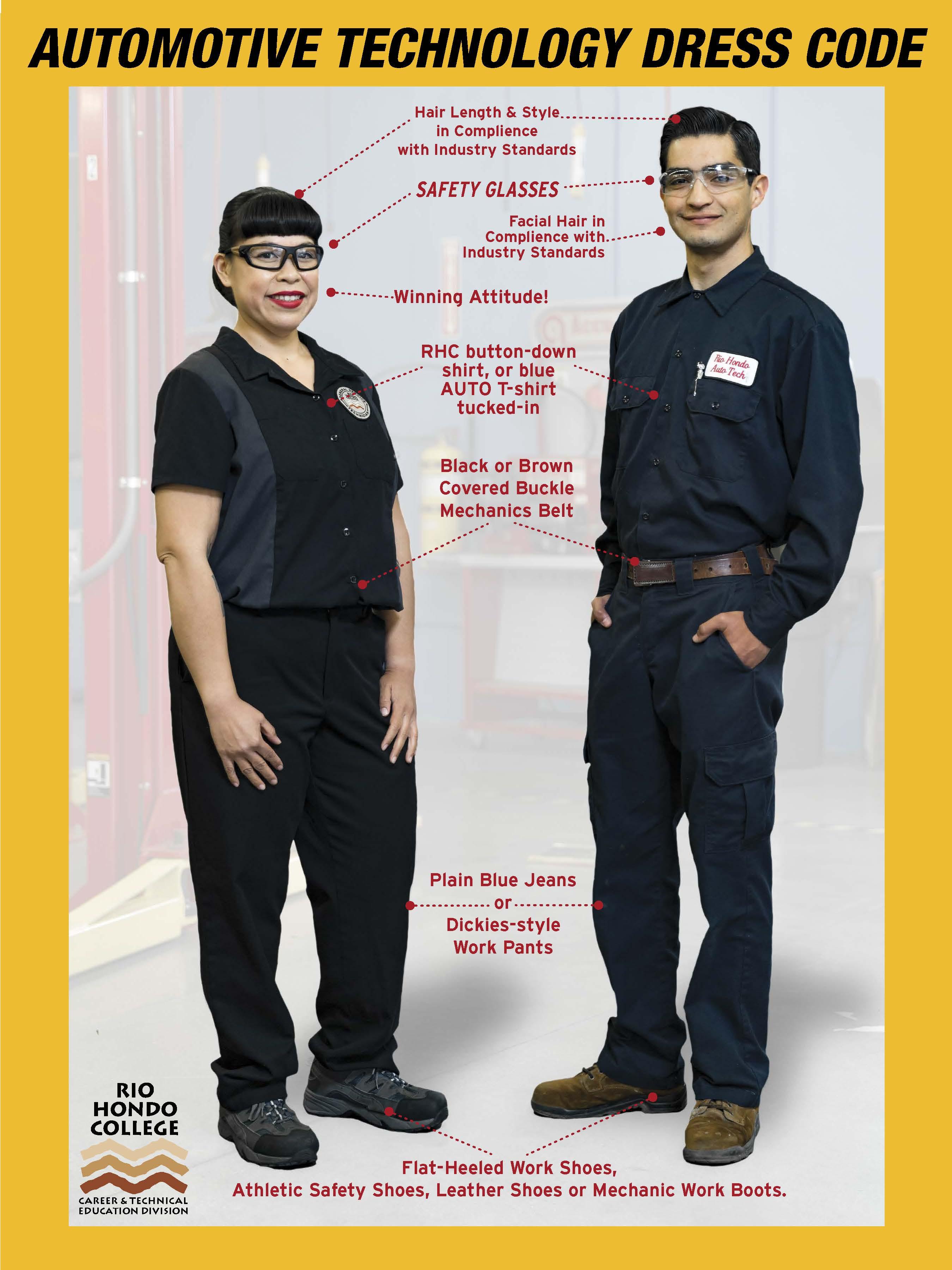 Automotive Technology Uniform Code Career And Technical