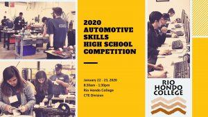 2020 Automotive Skills High School Competition @ Rio Hondo College