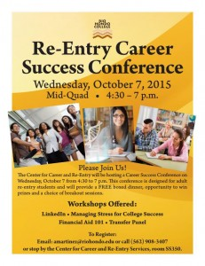 RE-Entry Career Success Conference