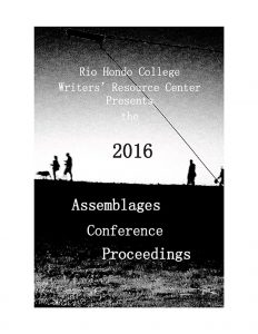 Assemblages proceedings Fall 2016