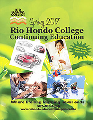 Spring 2017 Schedule - Continuing Education