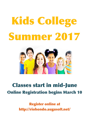 Summer 2017 Schedule - Continuing Education