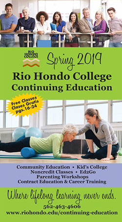Spring 2019 Schedule - Continuing Education