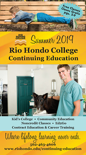 Summer 2019 Schedule - Continuing Education
