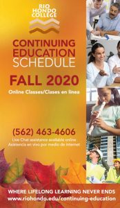 Click here to view our Fall 2020 Continuing Education Catalog
