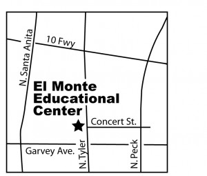 Map of El Monte Educational Center