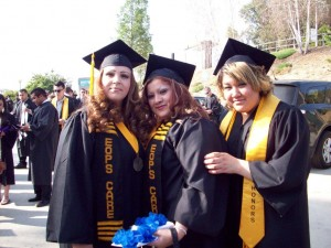 graduation photo of EOP&S students