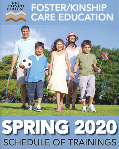 Spring 2020 Schedule of Trainings