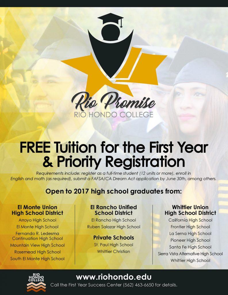 Rio Promise Flyer