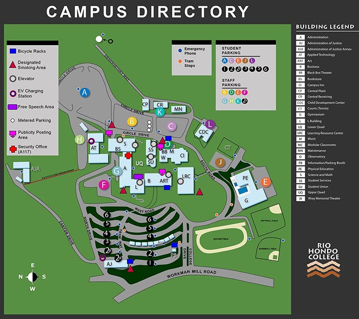 Rio Hondo Campus Map Hours and Location | First Year Success Center Rio Hondo Campus Map
