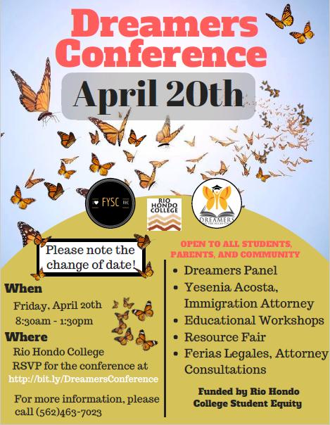 Dreamers Conference @ Rio Hondo College
