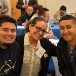 Group picture of Joshua Giron, Michelle Bean, and Brian Guzman.