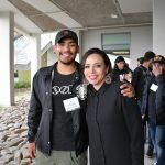 Mentee Moises Gonzalez and mentor Vanessa Chavez.