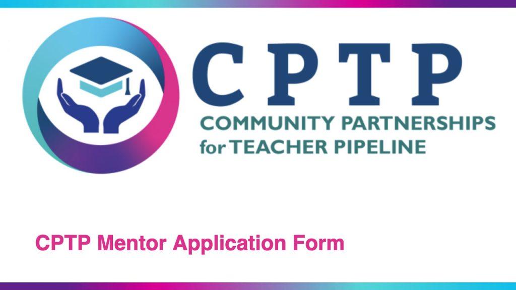 CPTP Mentor Application button