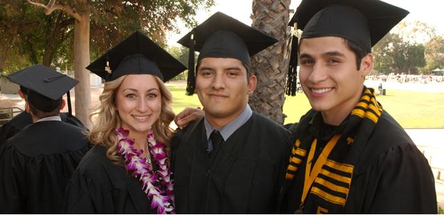 photo of graduating students