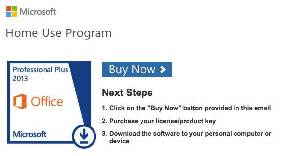 buy now img - Microsoft Visio Home Use Program