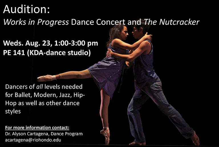 Dance Auditions for Fall 2017