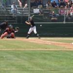 baseball action