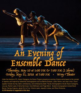 An Evening of Ensemble Dance @ Rio Hondo College Wray Theater | Whittier | California | United States
