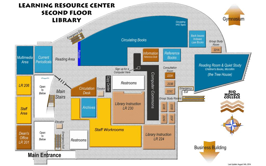 LRC - Floor 02 Locations