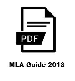 MLA Guide 2018